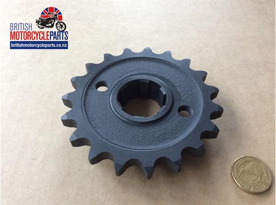 SPR-PU19T Gearbox Sprocket 19T - Triumph Pre-Unit - British Motorcycle Parts Ltd