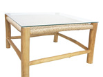 Square Accent Coffee Table Natural-Teak&Viro 80cm