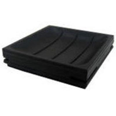 Square Soap Dish - Black
