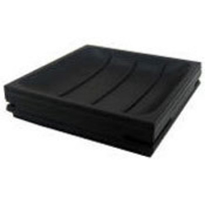Square Soap Dish - Black