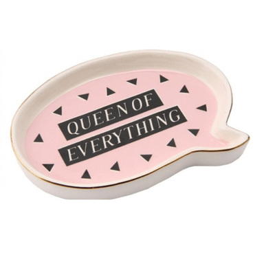ST Queen of Everything Ring Dish