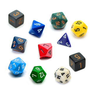 'Standard' Polyhedral Dice