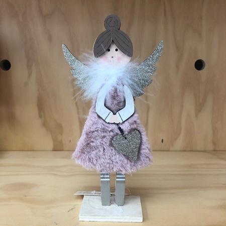 Standing Angel Pink