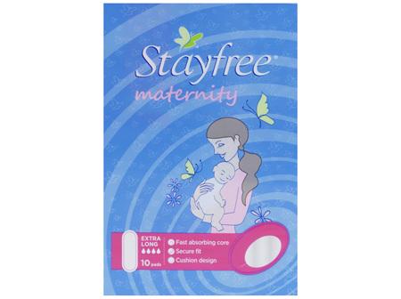 Stayfree Maternity 10 Pads