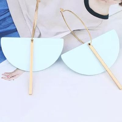 Stella Moon Drop Earrings - Turquoise