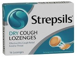 STREPSILS  DRY COUGH LOZ