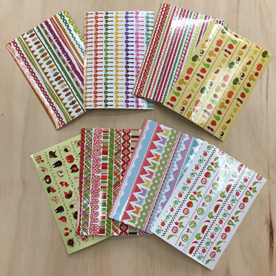 Strip Stickers 8 Sheets WAS $3.90