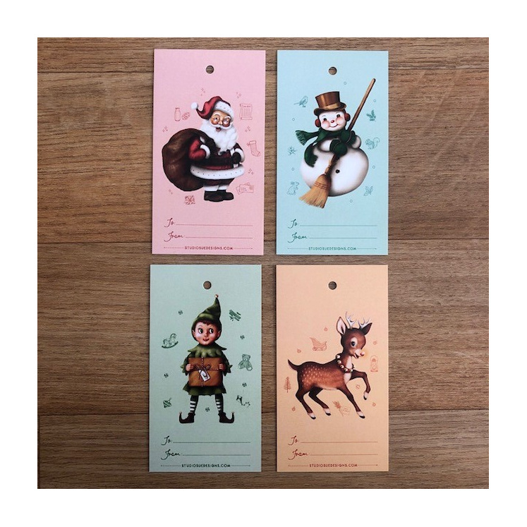 Studio Sue Characters of Christmas Gift Tag