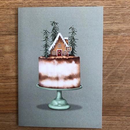 Studio Sue Christmas Cake Card