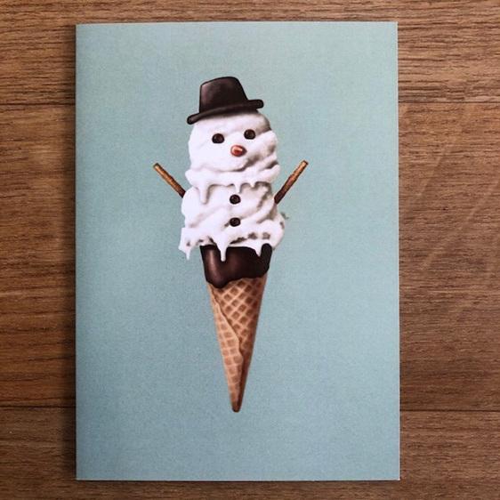 Studio Sue Snow Cone Card