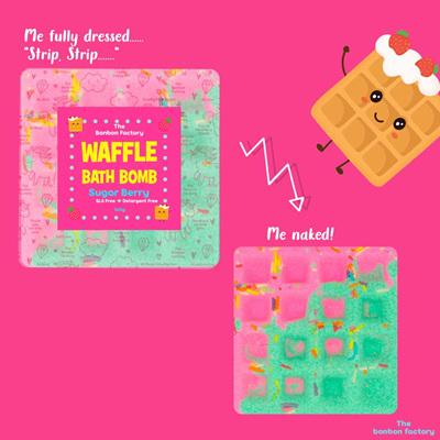 Sugar Berry Bath Bomb Waffle