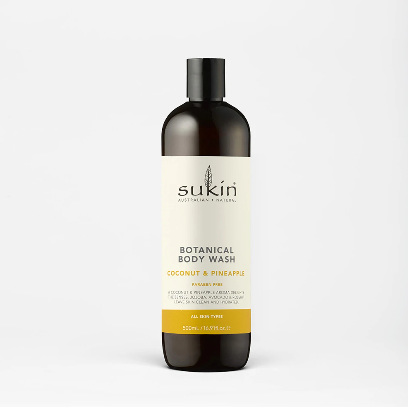 SUKIN Body Wash Coconut & Pineapple 500ml
