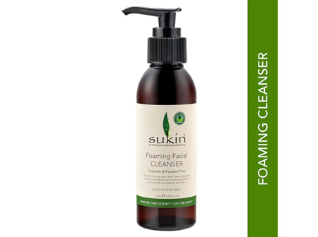 Sukin Foaming Facial Cleanser 125ml