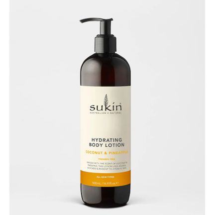 Sukin Hydrating Body Lotion Coconut & Pineapple 500ml