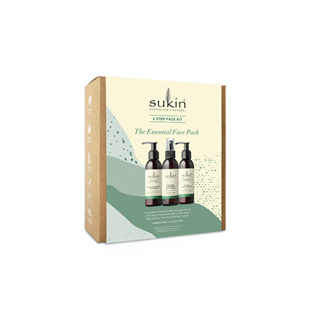 SUKIN Natural Essentials 3 Step Pk19