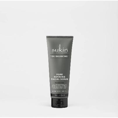 SUKIN Oil Balancing Pore Refining Facial Scrub 125ml