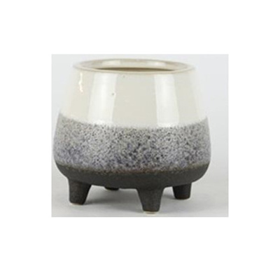 Sumit Ceramic Planter - Stone