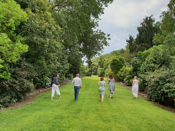Summertime on the Coast. Anam Cara gardens, Otaki. Photo by Andie Noon