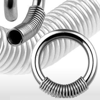 Surgical Stainless Steel Rings w/ Spring