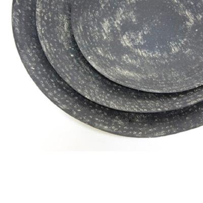 Suvvy Metal Platter - Black Wash/Small