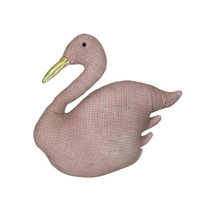 Swan Doorstop - Pink