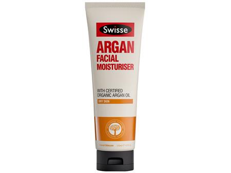 Swisse Argan Facial Moisturiser 125ml