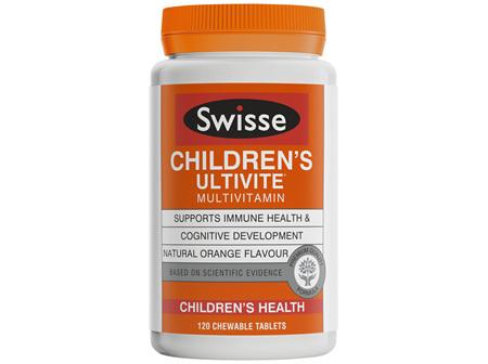 Swisse Children's Ultivite multivitamin 120 tablets