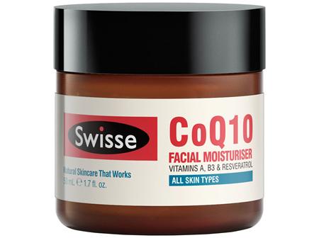 Swisse CoQ10 Anti-Aging Facial Moisturiser 50mL