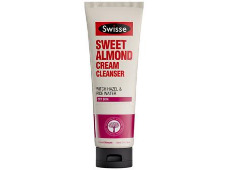 Swisse Sweet Almond Cream Cleanser 125ml