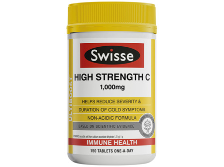 Swisse Ultiboost High Strength C 150 tablets