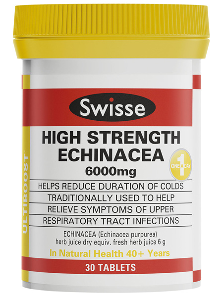 Swisse Ultiboost High Strength Echinacea 30 tablets