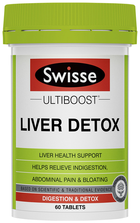 Swisse Ultiboost Liver Detox 60 Packs