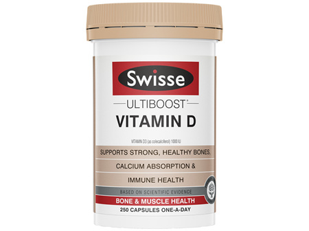 Swisse Ultiboost Vitamin D 250 tablets