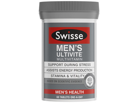 Swisse Ultivite Men's Multivitamin 60 Tablets