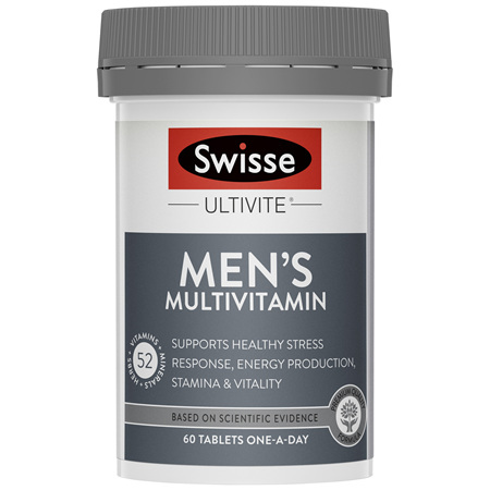 Swisse Ultivite Men's Multivitamin 60 Tablets
