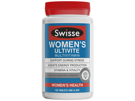 Swisse Women's Ultivite multivitamin 120 tablets