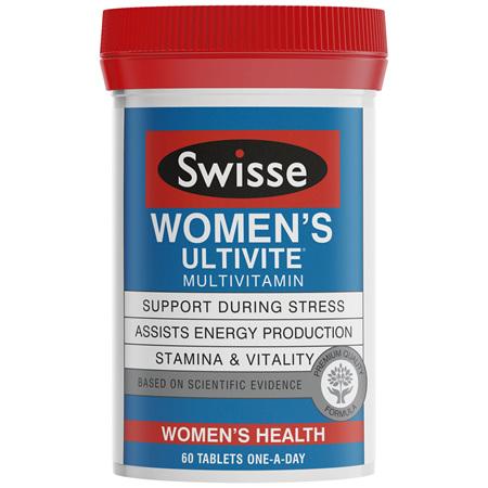 Swisse Women's Ultivite multivitamin 60 tablets
