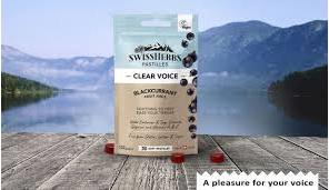 Swissherbs Pastilles Blackcurrant 30's