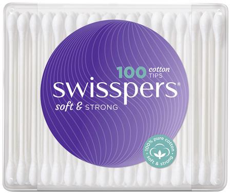 Swisspers Cotton Tips 100 pack