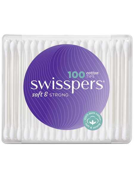 Swisspers Cotton Tips 100 pack