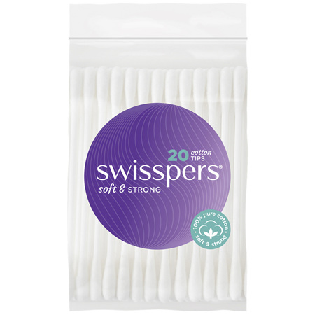 Swisspers Cotton Tips 20 pack