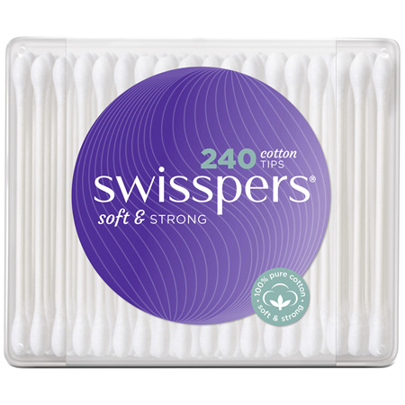 Swisspers Cotton Tips 240 pack