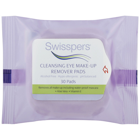 Swisspers Eye Make-up Remover Pads 30 pack
