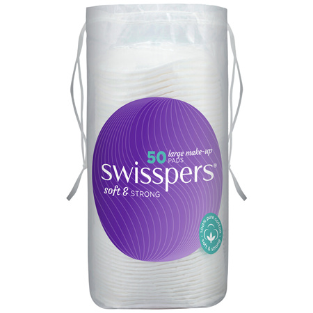 Swisspers Giant Make-Up Pads 50 pack