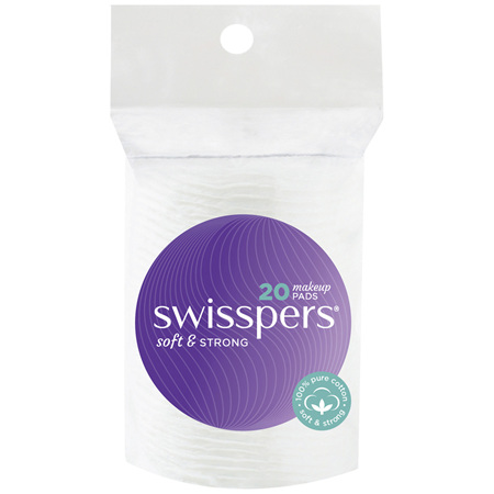 Swisspers Make-Up Pads 20 pack