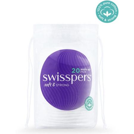 SWISSPERS Make Up Pads 20s