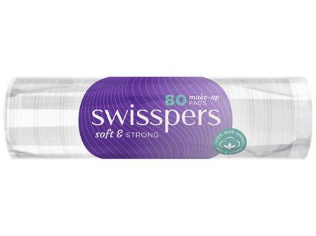 Swisspers Make-Up Pads 80 pack