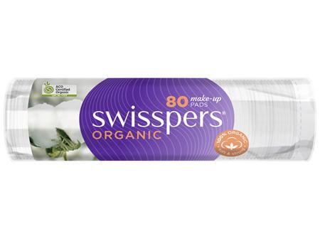 Swisspers Organic Make-Up Pads 80 pack