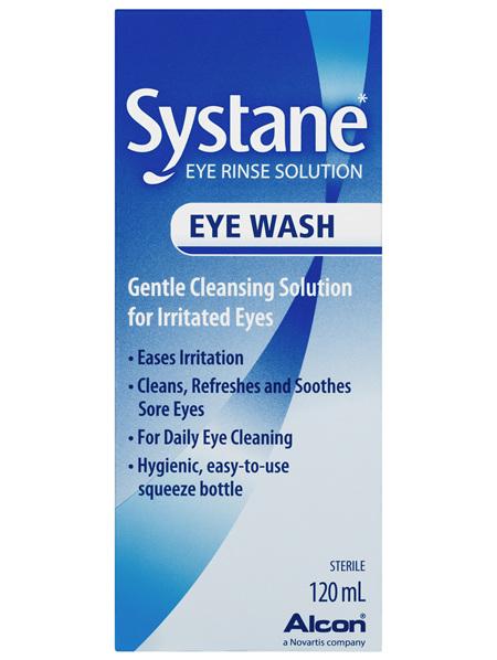 Systane Eye Wash Solution 120mL