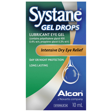 Systane Lubricant Eye Gel Drops 10mL